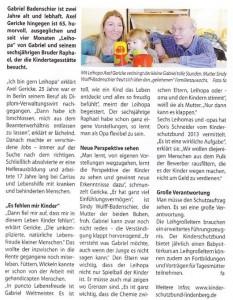 Lindenberg aktiv: Bericht Leihgroßeltern