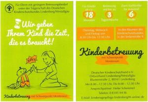 "NEU: Kinderbetreuung ""Wurzelkinder"""