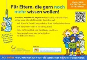 Elternbriefe-Versand eingestellt – jetzt: www.elternbriefe.bayern.de
