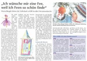 Der Westallgäuer: Volksbank – Wunschkugelaktion