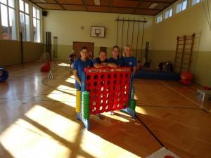 Unser Spieleanhänger beim Oktoberfest in Weiler