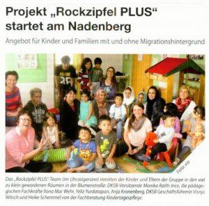 Rockzipfel PLUS jetzt am Nadenberg 34b