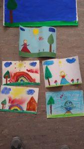 Kunstwerkstatt für Flüchtlingskinder