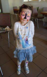 Kunsthandwerkermarkt Scheidegg: Kinderschminken