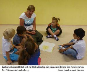 Sprachförderung: 14 Kinder nahmen teil