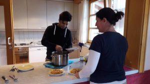 Samiullah kochte für Rockzipfel PLUS