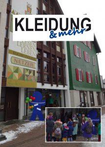 """Eröffnung """"KLEIDUNG & mehr"""""""