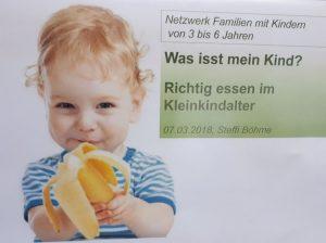 """Vortrag: Gemeinsames Essen mit Kindern """"Frust und Freude?"""""""