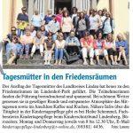 """Bericht """"Der Westallgäuer"""" 27.09.2019"""